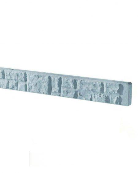 Rock Face Concrete Fencing Gravel Board 150mm