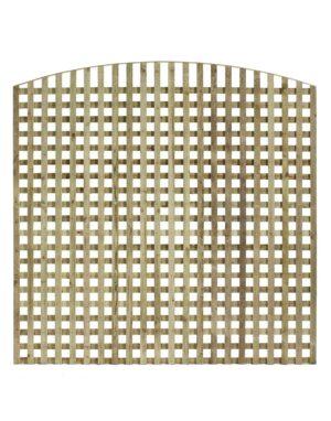 Arched Top Trellis Panel 50mm Gaps
