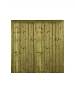 Country Driveway Gates (Feathered Edged)