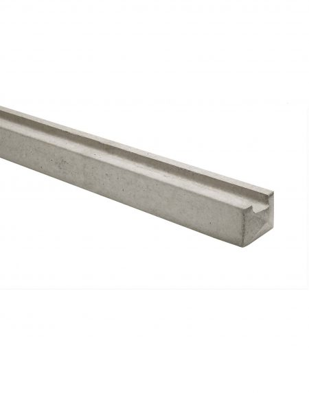 Concrete Slotted End Fencing Post
