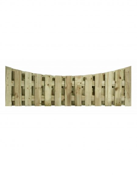 Estates Tanalised Double Sided Bow Concave 6' x 2'