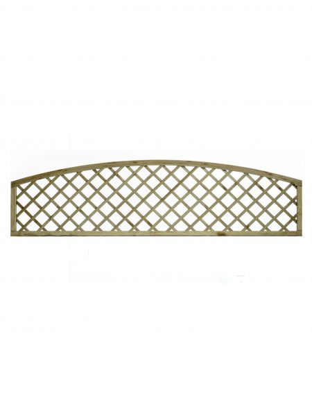 KDM English Lattice Arch Concave 6' x 1'