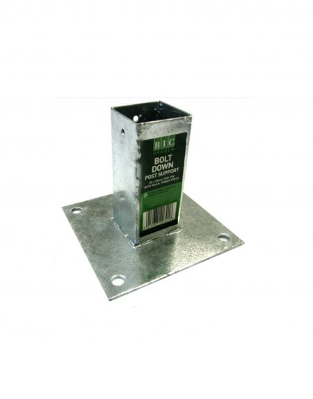 BIC Bolt Down Post Support 50mm