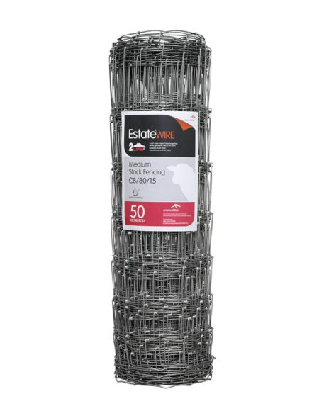 Galv. Estate Wire Stock Fencing C8/80/15