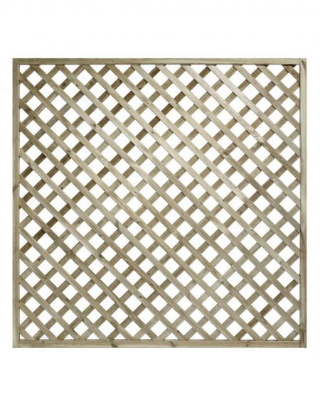 KDM Heavy Diamond Lattice/Trellis Panel