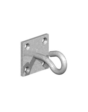 Gatemate Chain Hook on Plate