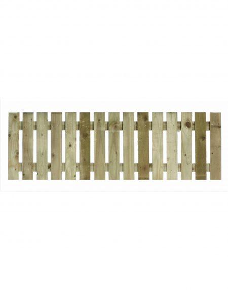 Estates Tanalised Square Paling Panel 25mm Single 6' x 2'