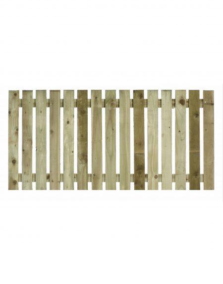 Estates Tanalised Square Paling Panel 25mm Single 6' x 3'