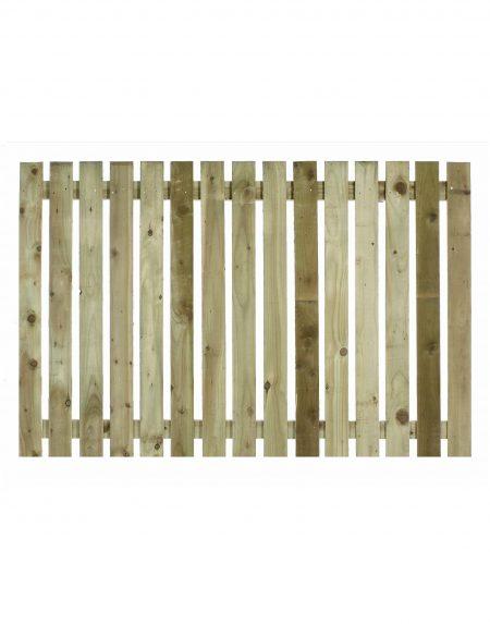 Estates Tanalised Square Paling Panel 25mm Single 6' x 4'