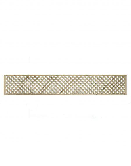 KDM Privacy Diamond Lattice Trellis 6' x 1'