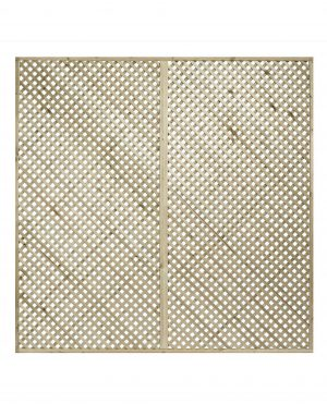 KDM Privacy Diamond Lattice/Trellis Panel Squares