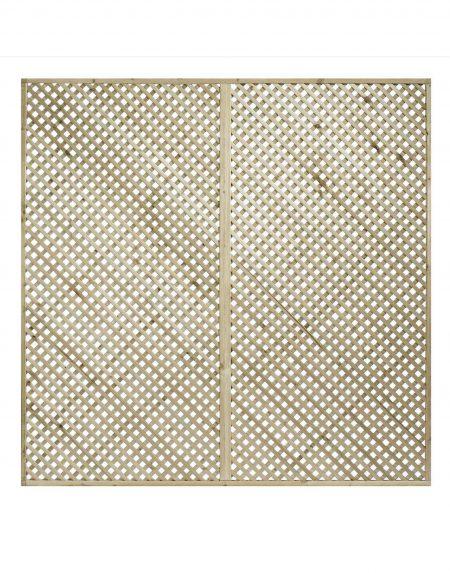 KDM Privacy Diamond Lattice/Trellis Panel Squares