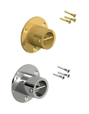 Gatemate Brass and Chrome Rope Ends