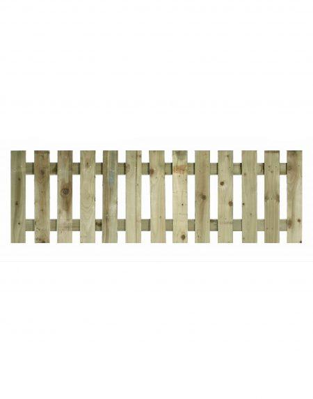 Estates Tanalised Square Paling Panel 50mm Single 6' x 2'