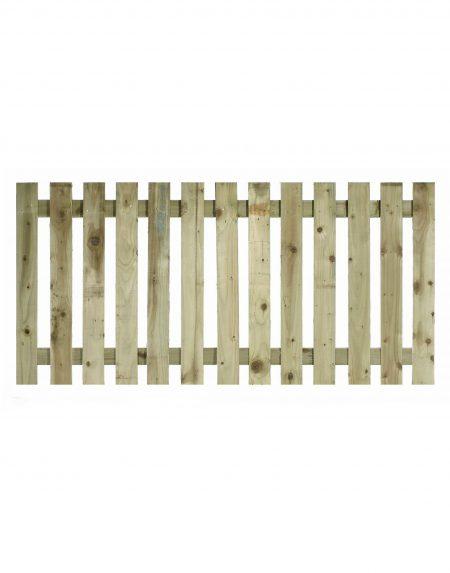 Estates Tanalised Square Paling Panel 50mm Single 6' x 3'