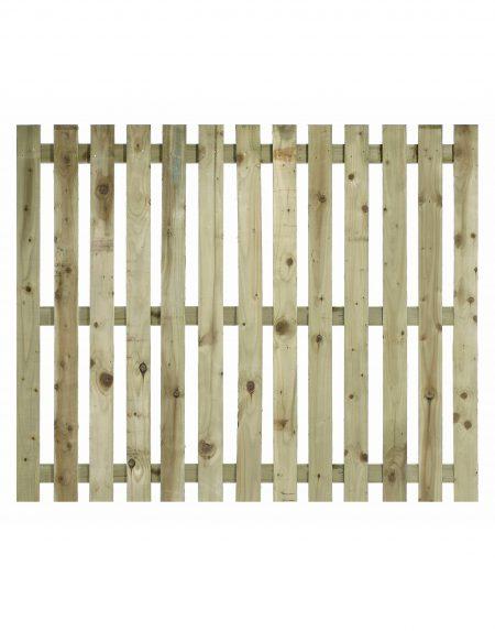 Estates Tanalised Square Paling Panel 50mm Single 6' x 5'