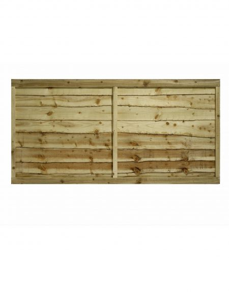 Estates Tanalised Overlap Fencing Panel 6' x 3'