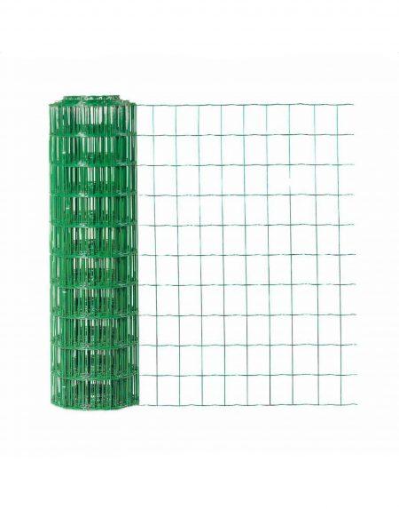 Green PVC Coated Trim Fence