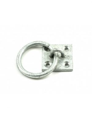Gatemate Galvanised Chain Ring on Plate