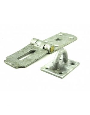Gatemate Galvanised Hasp and Staples