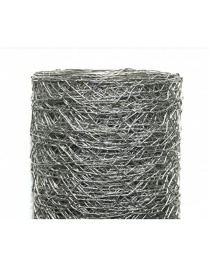 Galvanised Wire Netting 25m Roll