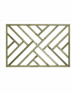 Cross Hatch Deck Infill Panel