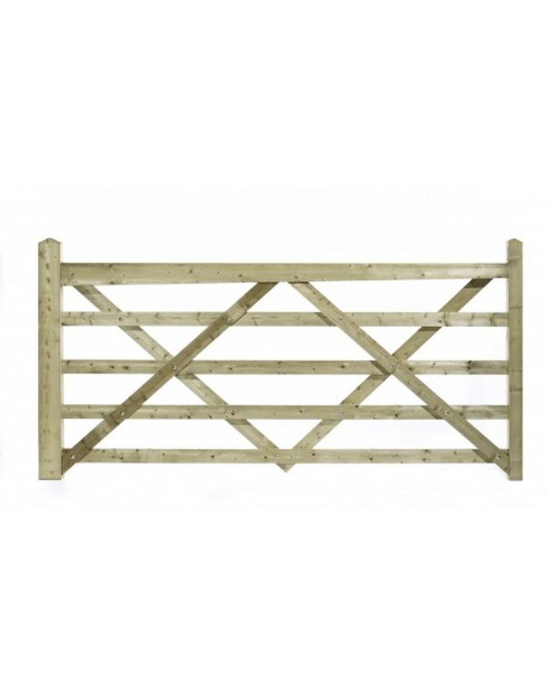 Charlton Somerfield Field Gates (5 Bar)