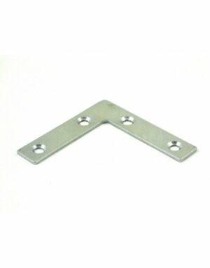 Gatemate Corner Flat Plate BZP