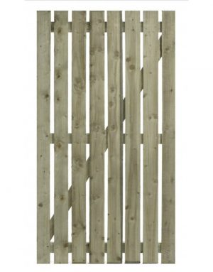 Paling Gate - Sawn Finish