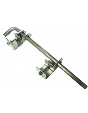 IAE Galvanised Double Gate Drop Bolt