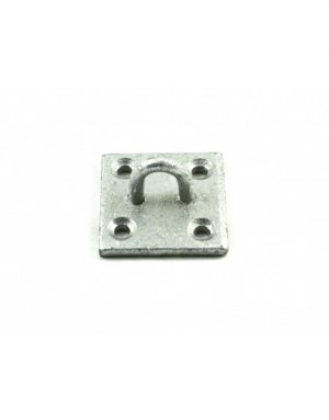 Gatemate Galvanised Chain Staple on Plate