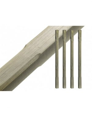 Chamfered Decking Spindles