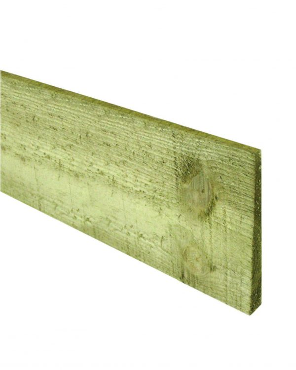 Tanalised Feathered Edge Board 125mm