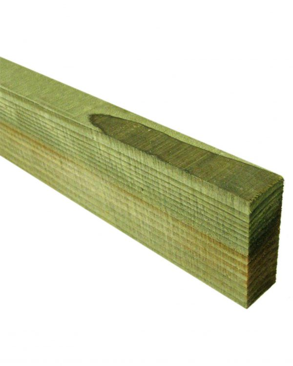 Tanalised 100mm x 38mm Fencing Rails
