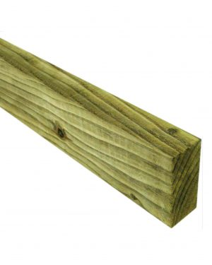 Sawn and Tanalised 88mm x 38mm Fencing Rails