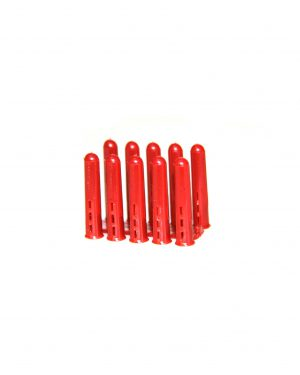 Plastic Red 5.5mm Wall Plugs
