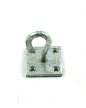 Gatemate Galvanised Chain Hook on Plate