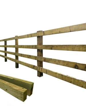Rails For Agricultural Post & Rail Fencing