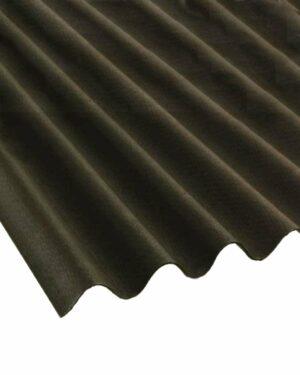 Onduline Roofing Ridge Sheet Black
