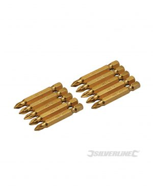 Silverline PZ Screwdriver Bits