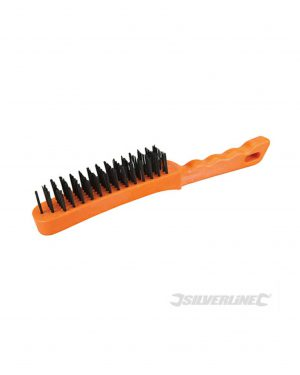 Silverline 5 Row Wire Brush