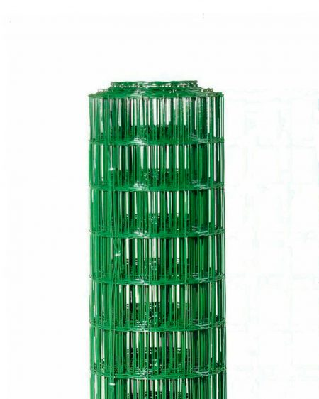 Green PVC Coated Trim Fencing (10m Rolls)