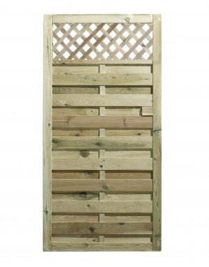 Horizontal Gate with Trellis