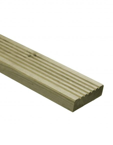 Classic Grooved Decking 120mm wide