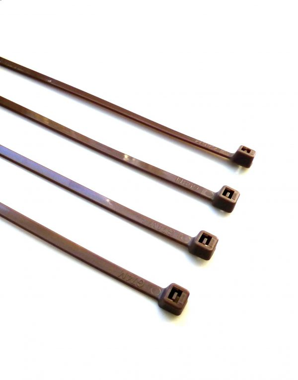 Brown Cable Ties 200mm