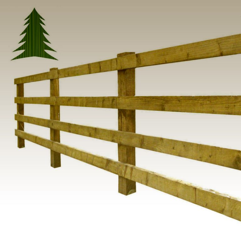Agricultural Sawn Tanalised Post and Rail
