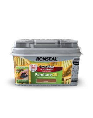 Ronseal Perfect Finish Ultimate Protection Hardwood Garden Furniture Oil